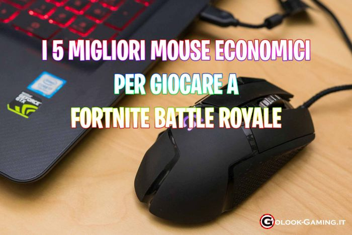 migliori mouse economici gaming fortnite