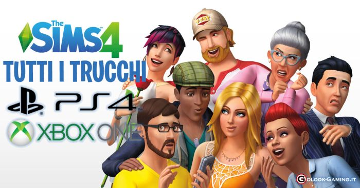 trucchi the sims 4 ps4 xbox one