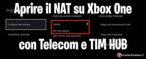 apire nat xbox one telecom tim hub