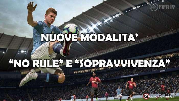 FIFA 19 NO RULE SOPRAVVIVENZA