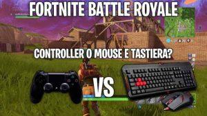 fortnite mouse tastiera vs joypad