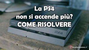 PS4 non si accende