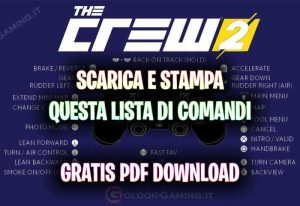 comandi the crew 2 ps4