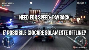 need for speed payback come giocare offline