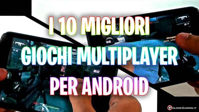 giochi multiplayer android