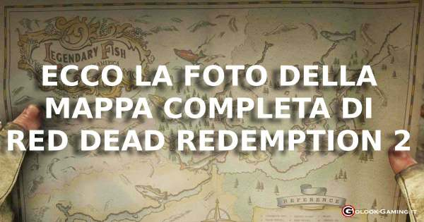 RED DEAD redemption 2 mappa completa