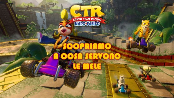 crash team racing ctr mele