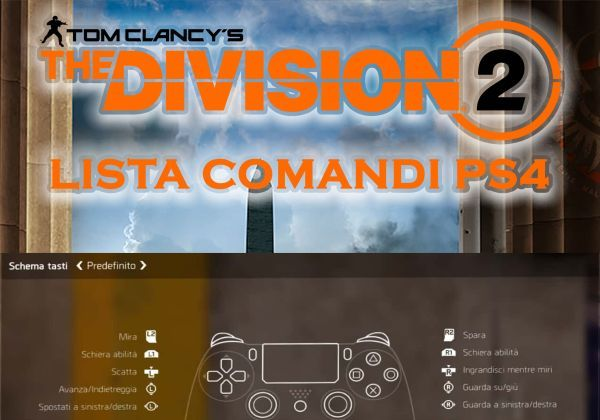 the division 2 comandi ps4