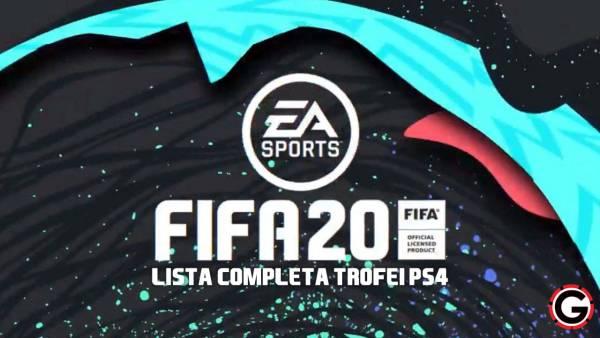 lista trofei fifa 20 ps4