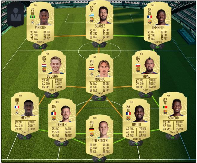 Squadre Fifa 20
