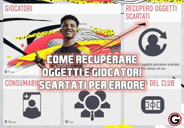 Recupero Oggetti Scartati
