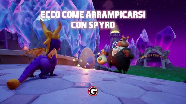 spyro come arrampicarsi