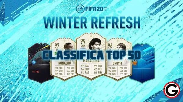 winter refresh top 50
