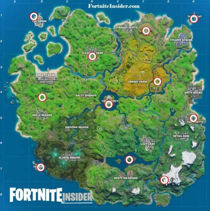 fortnite mappa elicotteri