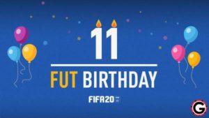 fifa 20 fut birthday