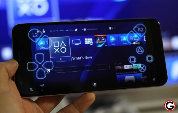 giocare alla ps4 dal proprio smartphone