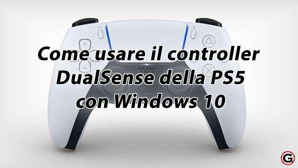 usare controller ps5 su pc windows 10
